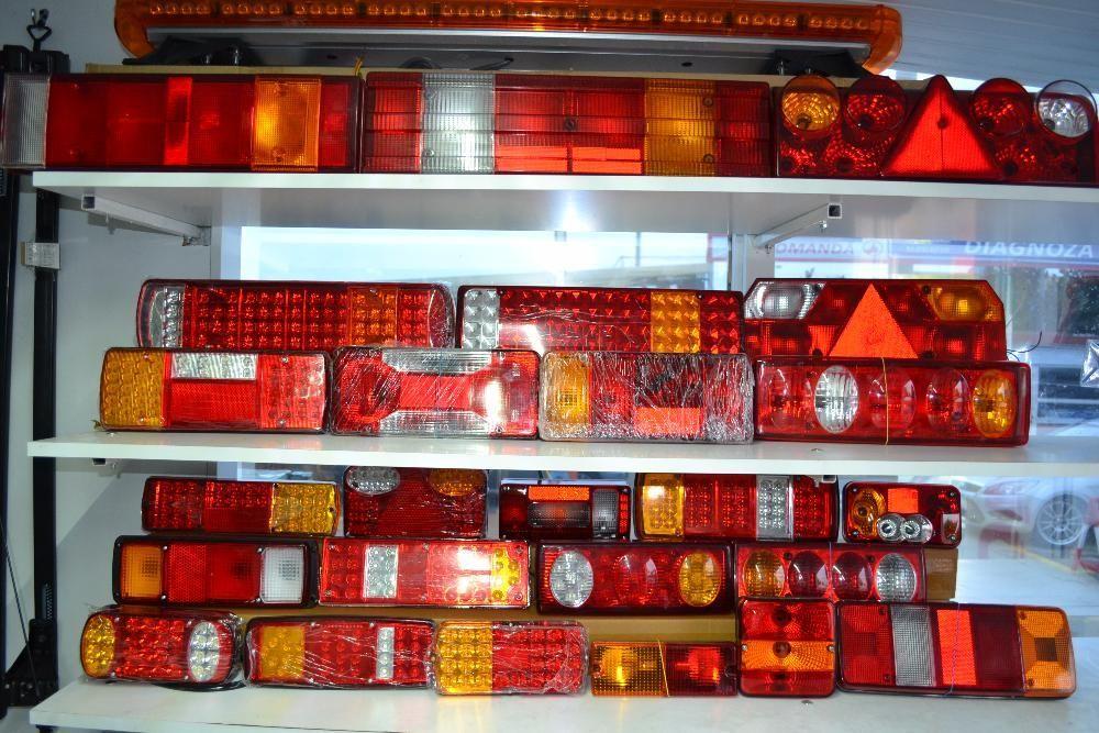Lampi de STOP lampa triple camion remorca TIR - Lampi de gabarit LED Bucuresti - imagine 1