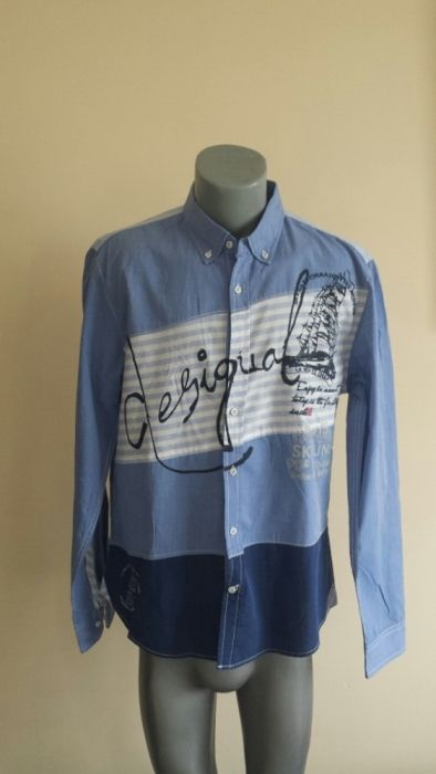 Desigual Mens Slim Size XL НОВО!