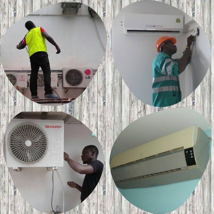 Manutenção, Instalação e Limpeza de Ar-Condicionado