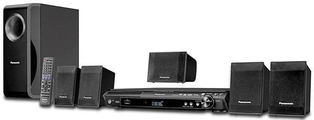 Panasonic Sistem Home Theater cu DVD SC-PT 150