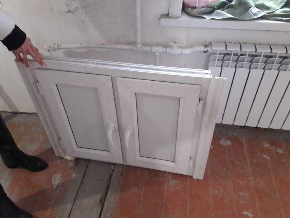 Дверки на кухню под подоконник 82х70см. Новые, утепленные. Пост