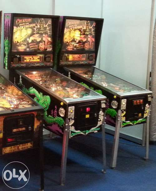 Pinball sau Flipper Creature from Black Lagoon - joc distractiv