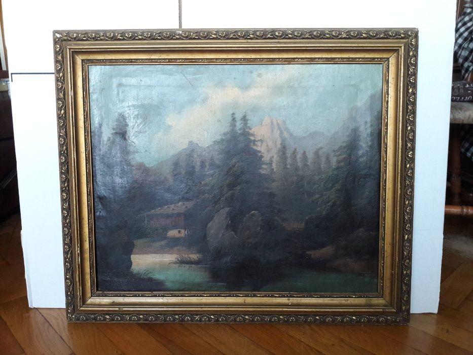 Pictura Scoala Austriaca perioada 1880-1900 - Ulei pe panza ,nesemnat
