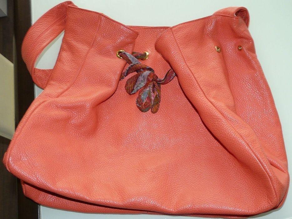 Дамска чанта Max&Co, естествена кожа