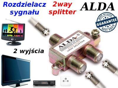 Splitter/ Multiplicator CATV/2/3/4 cai