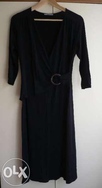 50 лв на 30.09. Marks & Spencer Елегантна черна рокля Оригина