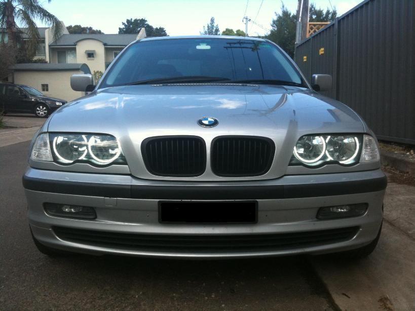 Grile negre BMW seria 3 E46 NON FACELIFT