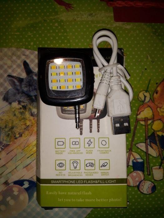 Lanterna blitz smart phone android sau ios