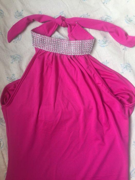 Платье новое, малиновый цвет, р 46-48
