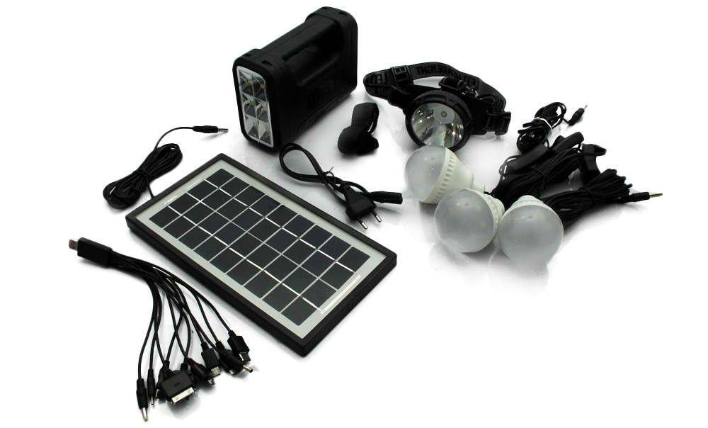 Соларна Осветителна Система GD-8007. С Гаранция
