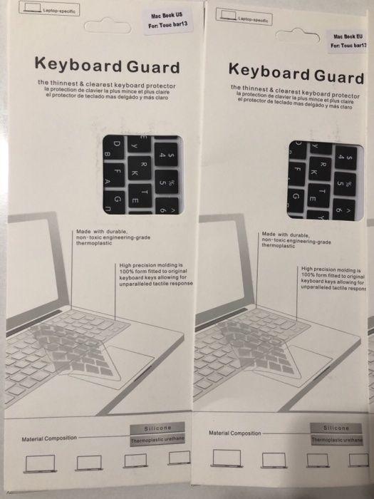 Силиконовые накладки на клавиатуру! Подходит на все модели MacBook!