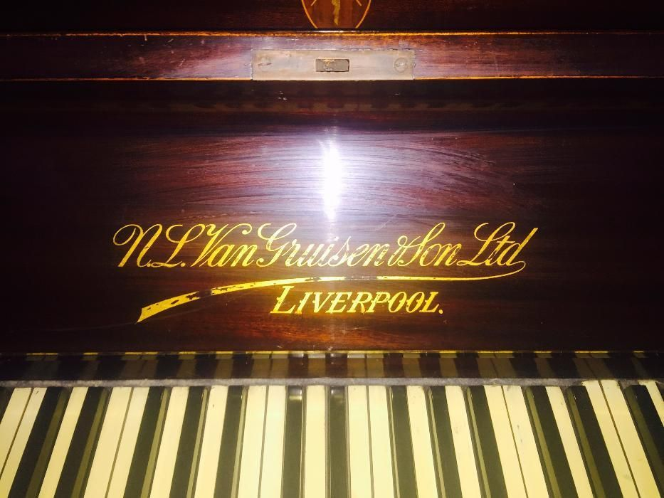 Пиано за колекционери N.L. VAN GRUISEN & SON Liverpool Договаряне