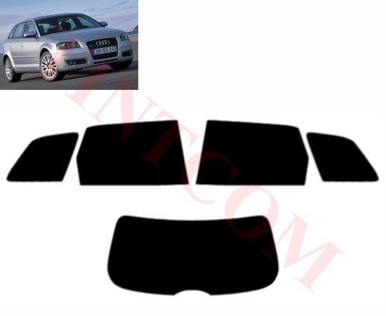 Audi A3 (5 врати, хечбек, 2004 - 2008)- Фолио за затъмняване на стъкла