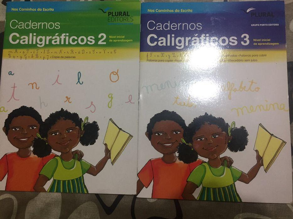 Cadernos caligráficos para crianças