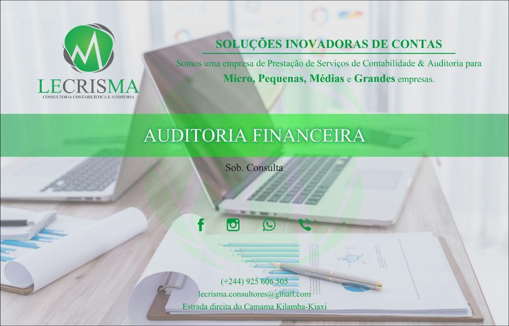Auditoria Financeira, Fiscal, Operacional e Inspecção