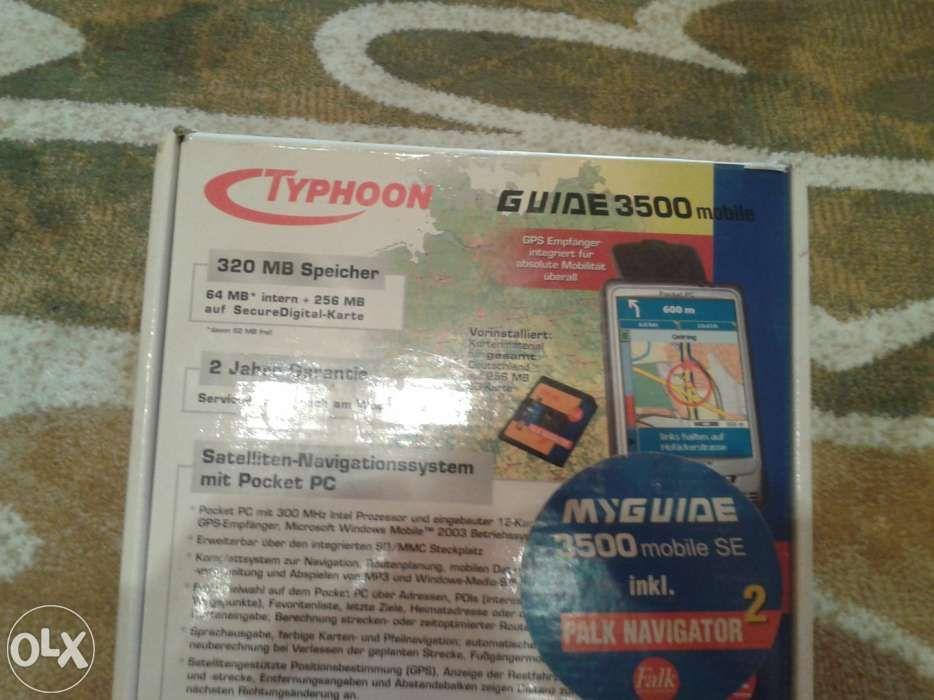 navigator typhoon myguide pocket pc
