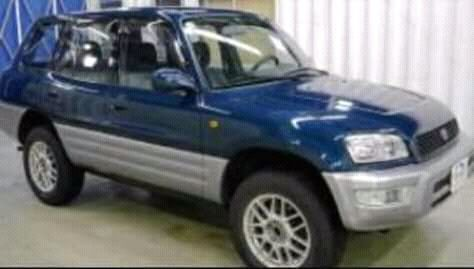 Toyota rav4 familiar