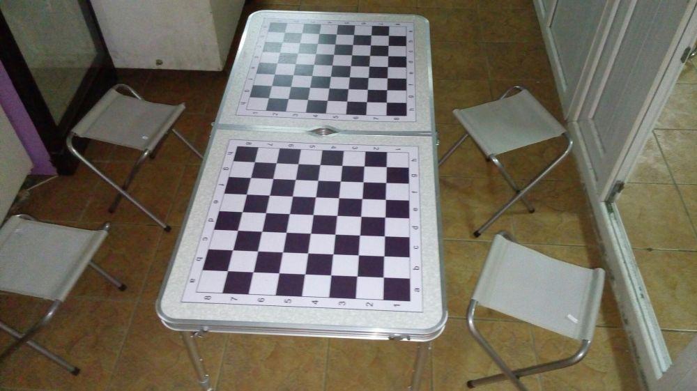Шахматный стол на 4 игрока