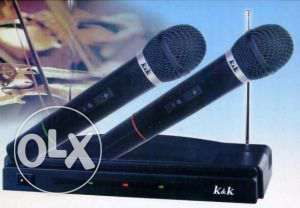 Set 2 x Microfon Wireless-Microfoane Karaoke wireless AT-306