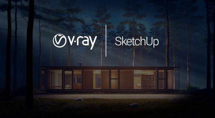 V-Ray mais SketchUp 2018