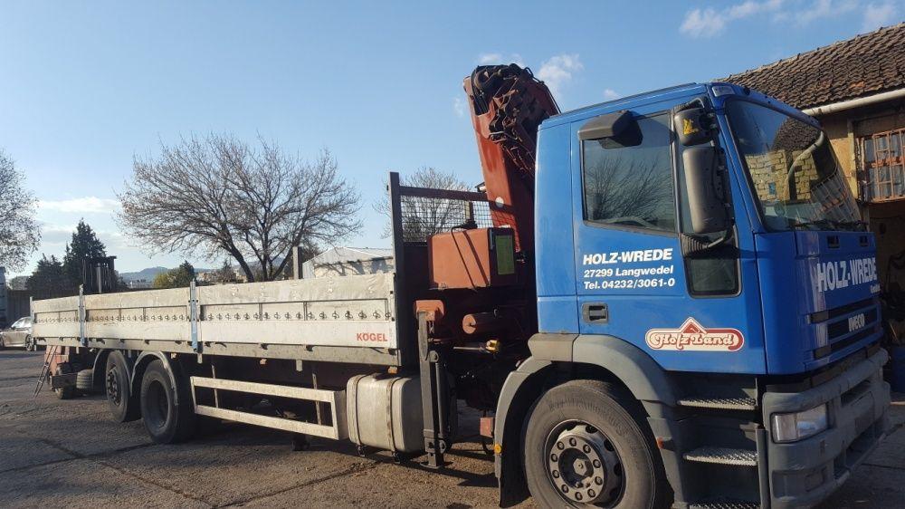Транспортни услуги камион с кран
