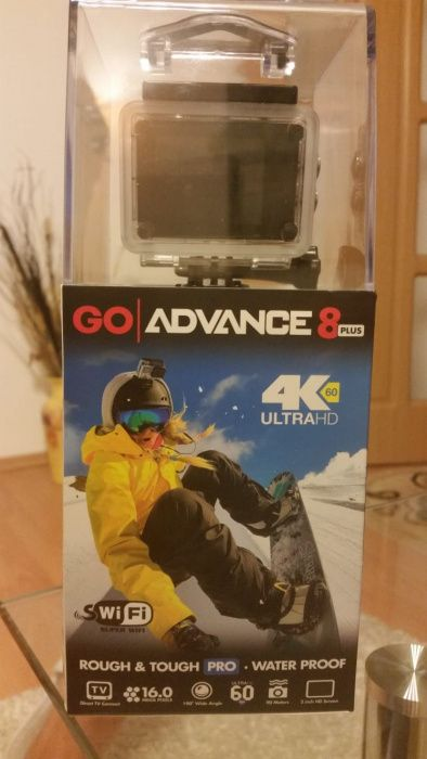 GO Pro ADVANCE 8 PLUS noua ! Camera foto-video acțiune !!!