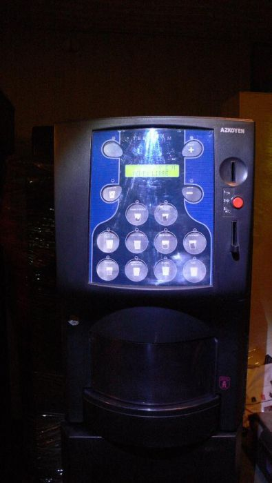 Кафе-Автомат - Готов за употреба ! Много компактна кафе-машина,вендинг