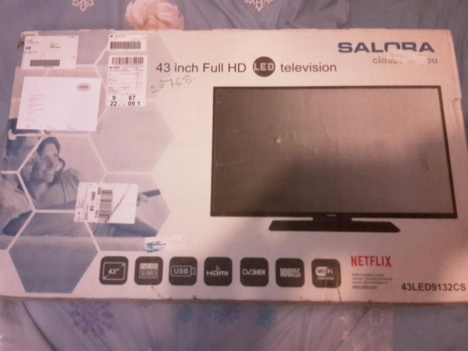 Salora 43LED9132CS led 3D TV