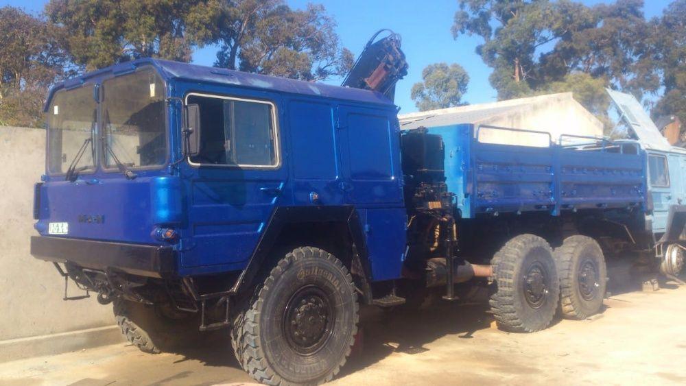 Vendo potente camião MAN