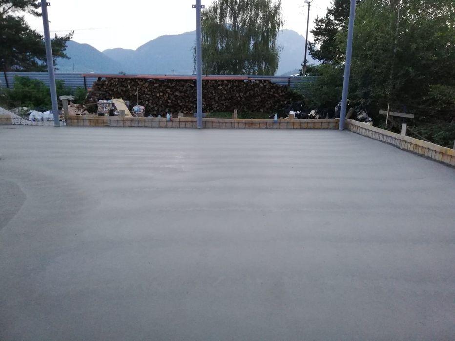 Pardoseli betonate elicopterizate, drumuri betonate periate