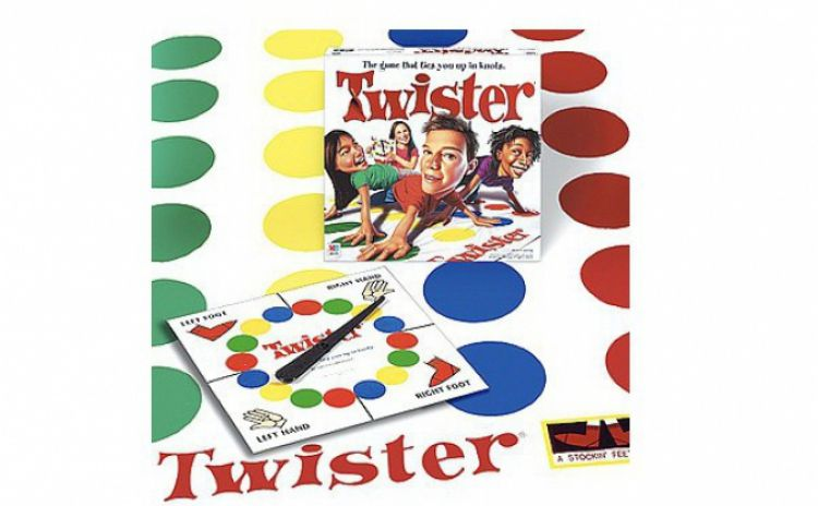 Joc Twister - Joc de societate pentru copii si adulti