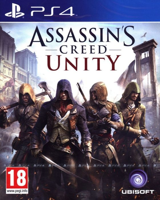 Assassin's Creed Unity / PS4 / Игра / Нова / Playstation4 / TV