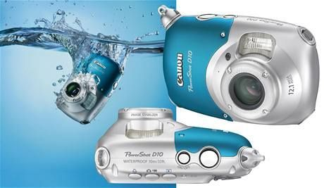 Подводный фото-видео аппарат Canon D10