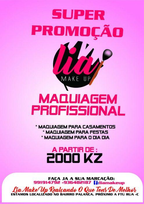 Profissional Make Up para qualquer envento principalmente cerimonias