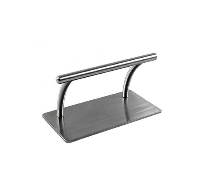 Suport metalic pentru scaun coafor/frizerie, Suport cromat picioare