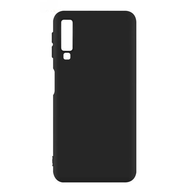 Samsung A7 A8 A9 2018 - Husa Super Slim Din Silicon Neagra, Black Bucuresti - imagine 1