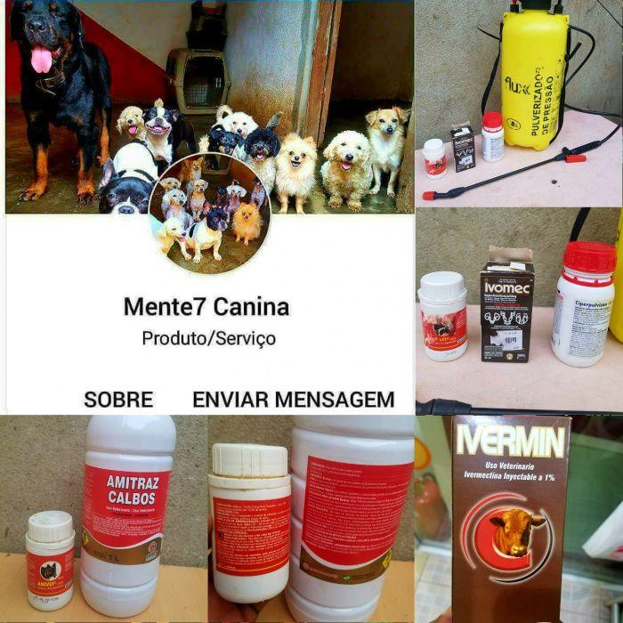 Serviços de desinfestação e vendas de produtos anti carrapatos