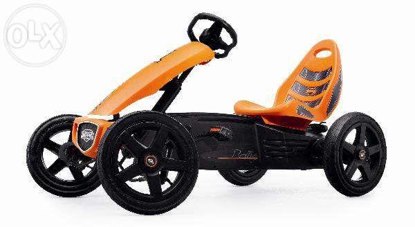 Kart cu pedale BERG Rally Orange copii 4-12 ani