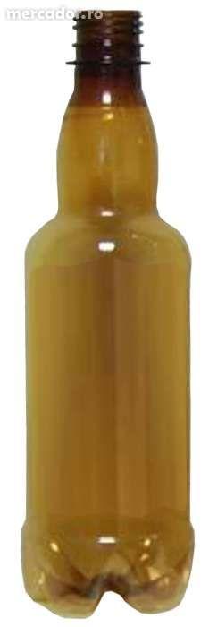 Sticle PET 500 ml maro - pentru bere de casa