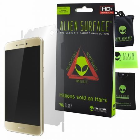 Folie Alien Surface HD, Huawei P9 Lite 2017, protectie spate, laterale