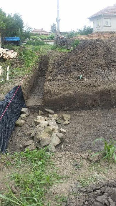 Изкопи с мини багер и транспортни услуги със самосвал до 3,5т гр. Велико Търново - image 5