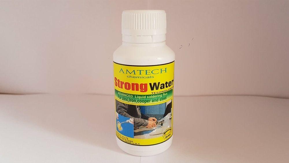 Apa tare pentru negi
