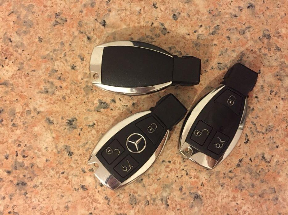 Прошивка ключей Mercedes до 2014г.