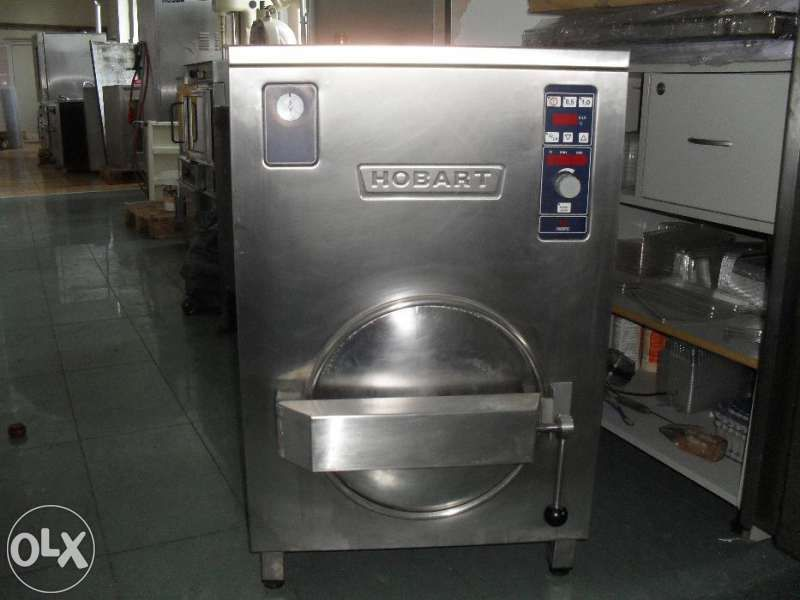 Конвектомат за готвене под налягане с пара Hobart 2007г HCPC