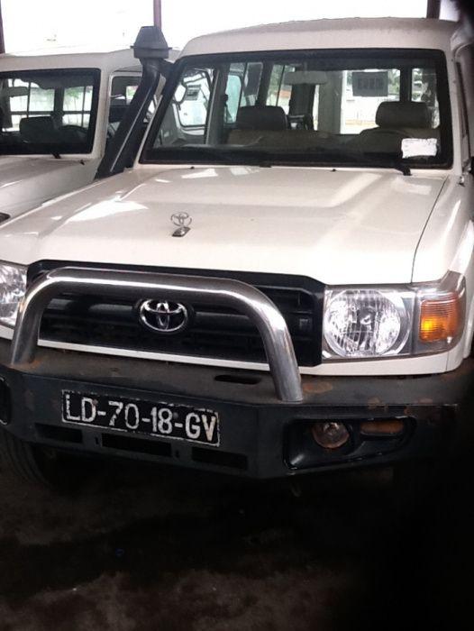 Toyota Land Cruiser Chefe Maquina