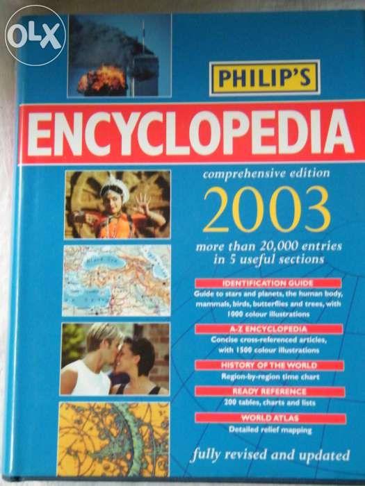 Enciclopedie in limba engleza, noua - Philip's Encyclopedia