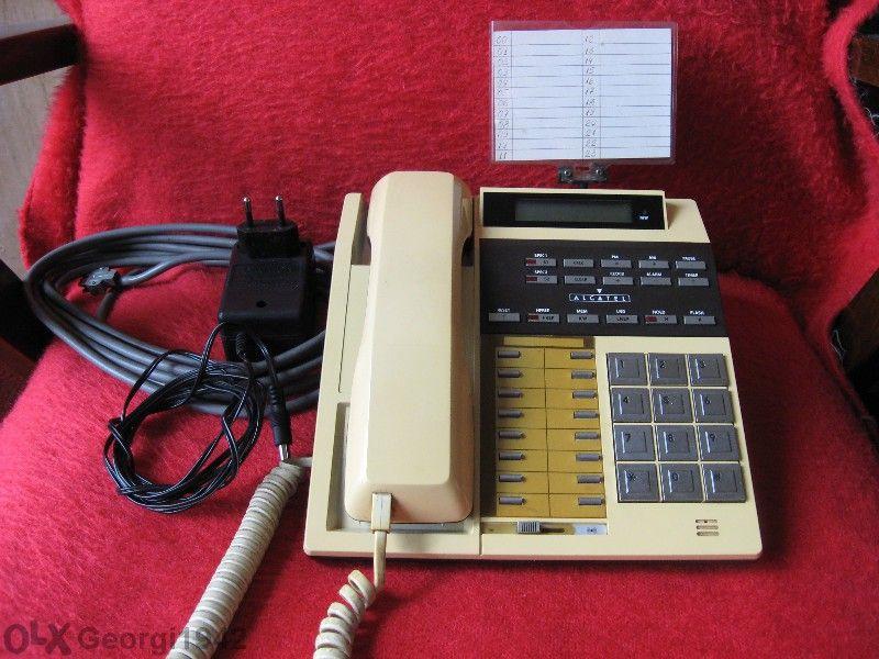 Продавам телефон за офис, модел - Мултифон - 2200, на фирмата - Алкате