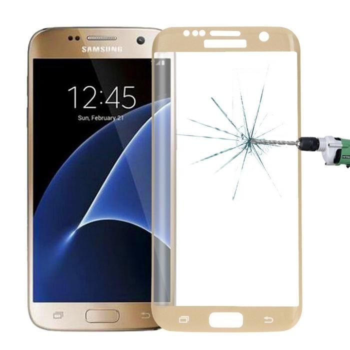 Стъклен протектор за Samsung Galaxy S7 Edge G935 FullFace версия Цвето