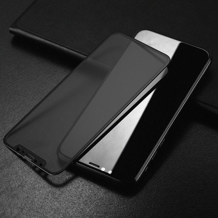 Folie 6D PRIVACY Apple iPhone X, Elegance Luxury duritate 10H