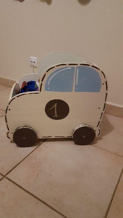 Carro para arrumação de Brinquedos